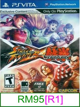 PS VITA Street Fighter X Tekken [R1] ★Brand New & Sealed★