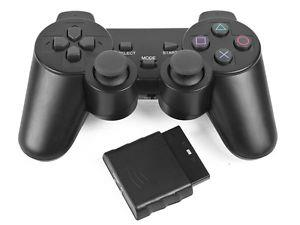 PS2 Playstation 2 shock Twin Vibration Wireless 2.4G Controller