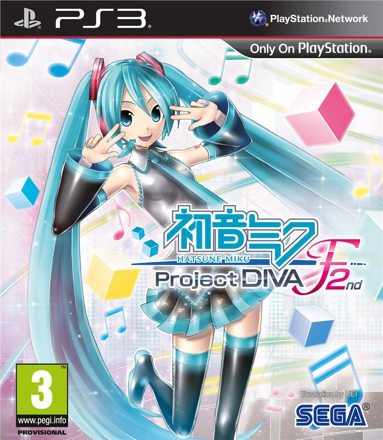 Ps3 Hatsune Miku Project Diva F 2ND-{R3}