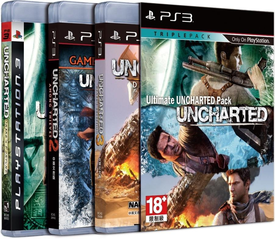 Best Playstation 3 Games : Ps ultimate uncharted game pack for end am