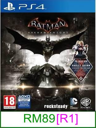 PS4 Batman Arkham Knight [R1] ★Brand New & Sealed★