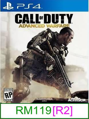 PS4 Call Of Duty Advenced Warfare [R2] ★Brand New & Sealed&#9733..