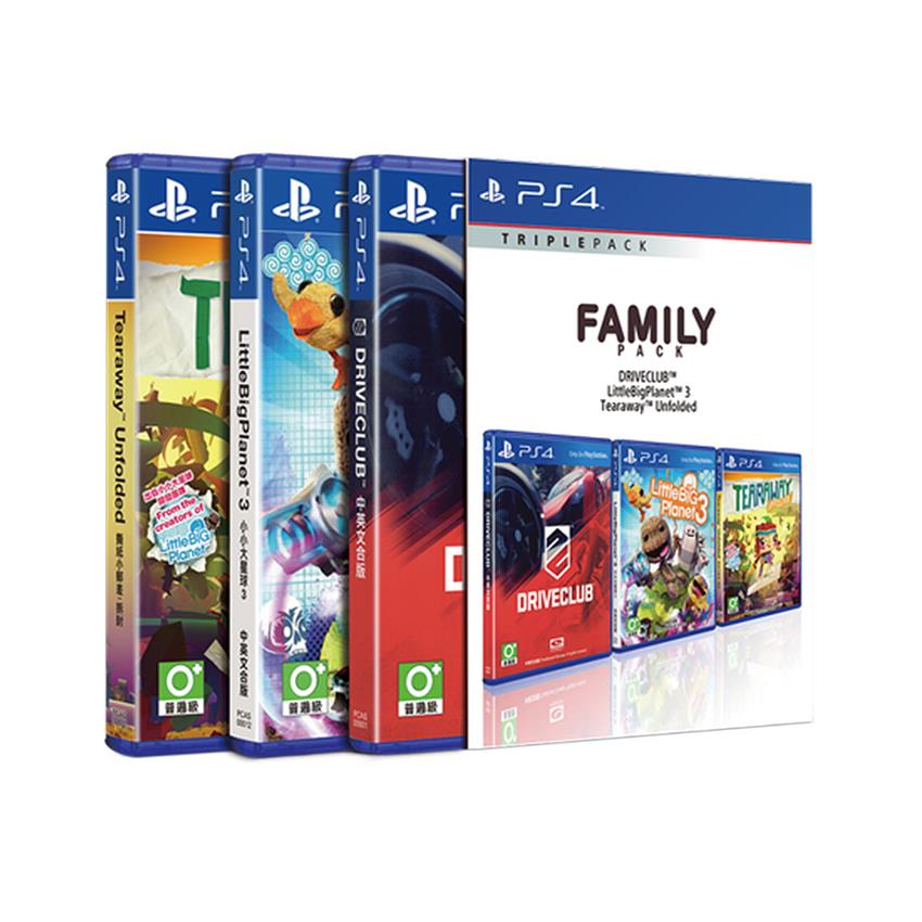 PS4 Family Triple Pack [R3]