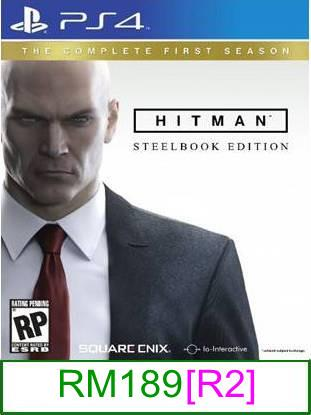 PS4 Hitman The Complete First Season [R2] ★Brand New & Sealed&#9..