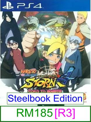PS4 Naruto Ninja Storm 4 Road To Boruto [R3] ★Brand New & Sealed..