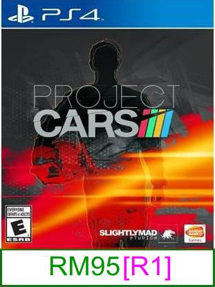 PS4 Project Cars [R1] ★Brand New & Sealed★