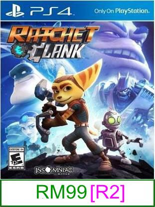PS4 Ratchet & Clank [R2] ★Brand New & Sealed★