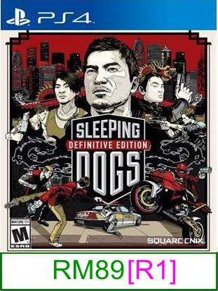 PS4 Sleeping Dogs Definitive Edition [R1] ★Brand New & Sealed&#9..