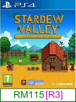 PS4 Stardew Valley [R3] ★Brand New & Sealed★