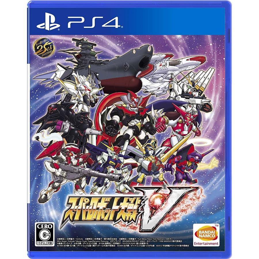 PS4 Super Robot Wars V (R3 CHI) RD 23-02-17 PRE ORDER
