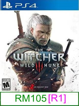 PS4 The Witcher 3 Wild Hunt [R1] ★Brand New & Sealed★