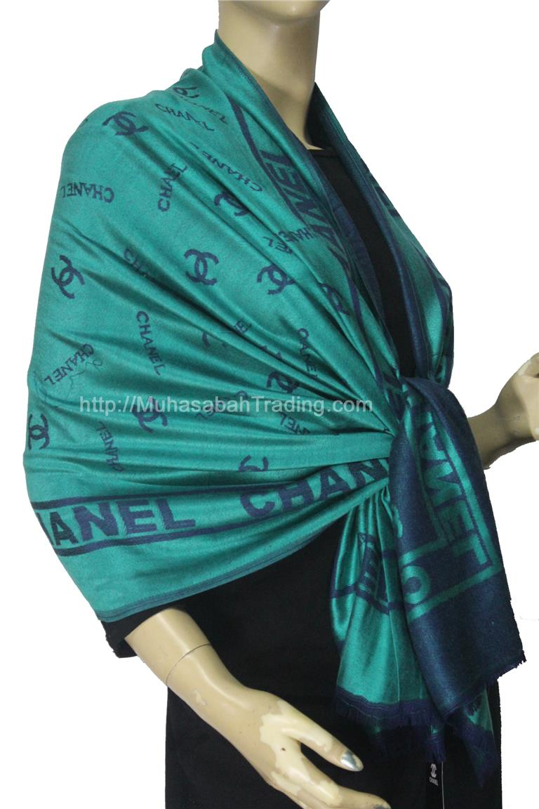 PSCH006: Koleksi selendang pashmina terkini wraps throw blanket