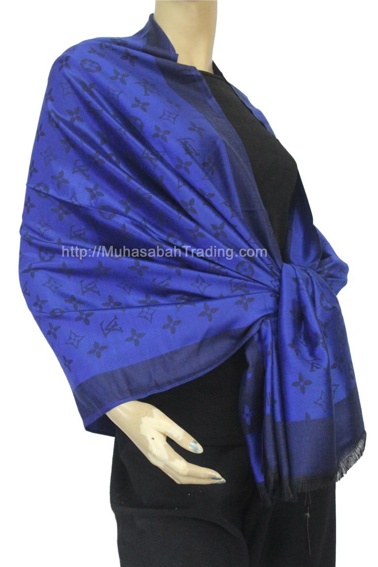 PSLV002: Koleksi selendang pashmina wraps throw blanket