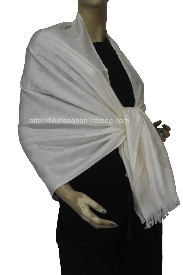 PSLV008: Koleksi selendang pashmina wraps throw blanket