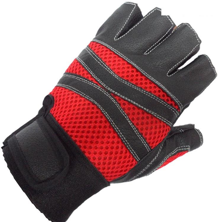 PU Leather Cool Design Workout/Motorcycle Hand Glove