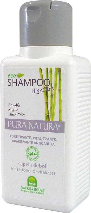 Pura Natura Eco Shampoo Invigorating Anti Fall (250ml) (Made In Italy)