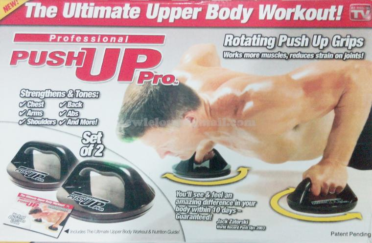 Push Up Pro Body Workout Exercise Muscle Fitness Training Gym