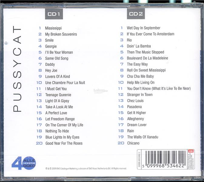 Pussycat - Alle 40 Goed - New CD