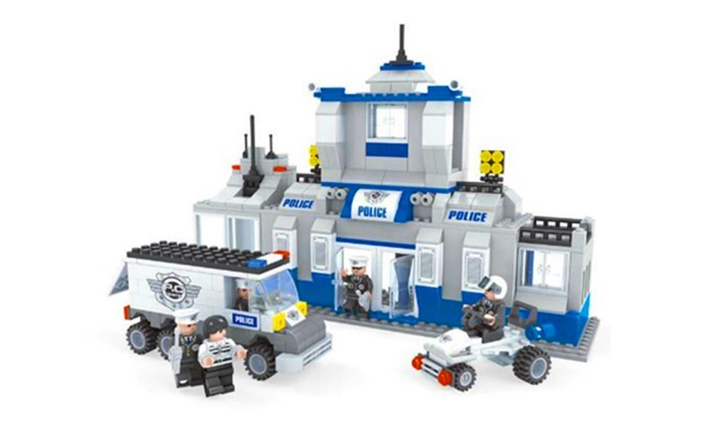 Puzzle Police Station Set (Design A)