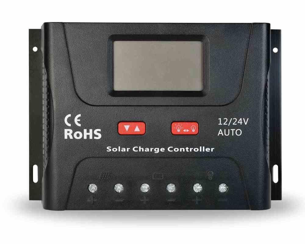 PWM 60A 12V/24V Solar Charge Controller