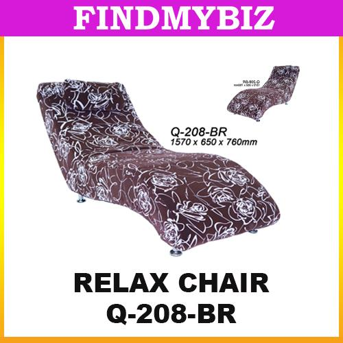 Q-208-BR RELAX CHAIR BROWN  SOFT COMFORTABLE SINGLE SLEEPING SOFA HOT