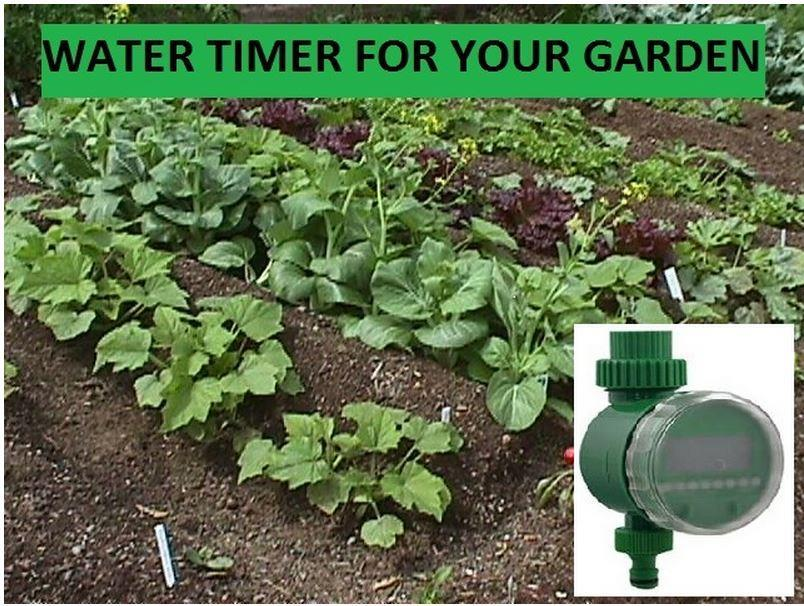 Quality Digital Water Timer Garden Irrigation Ready Stoc  Free Battery
