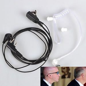 Quality SIA 2 Pin Security Earpiece Headset for Kenwood Baofeng Radio
