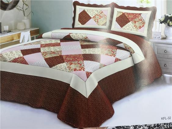 Queen size fitted bedsheet (SQ12)