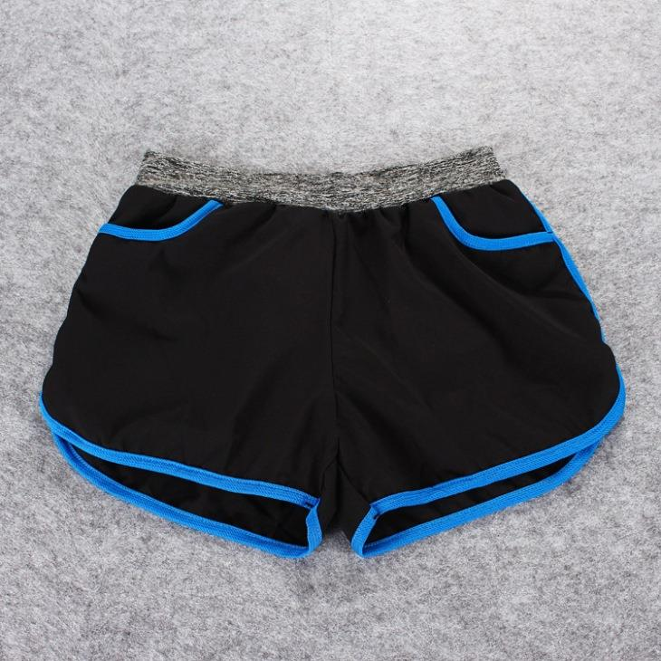 Quick Dry with Inner Ladies' Sport Shorts (Blue)