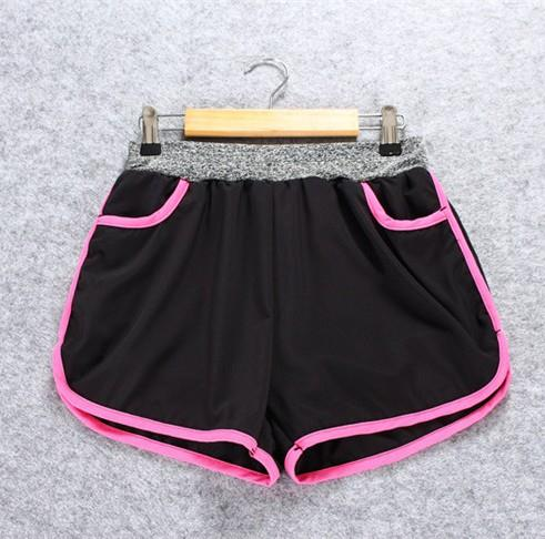 Quick Dry with Inner Ladies' Sport Shorts (Rose Red)