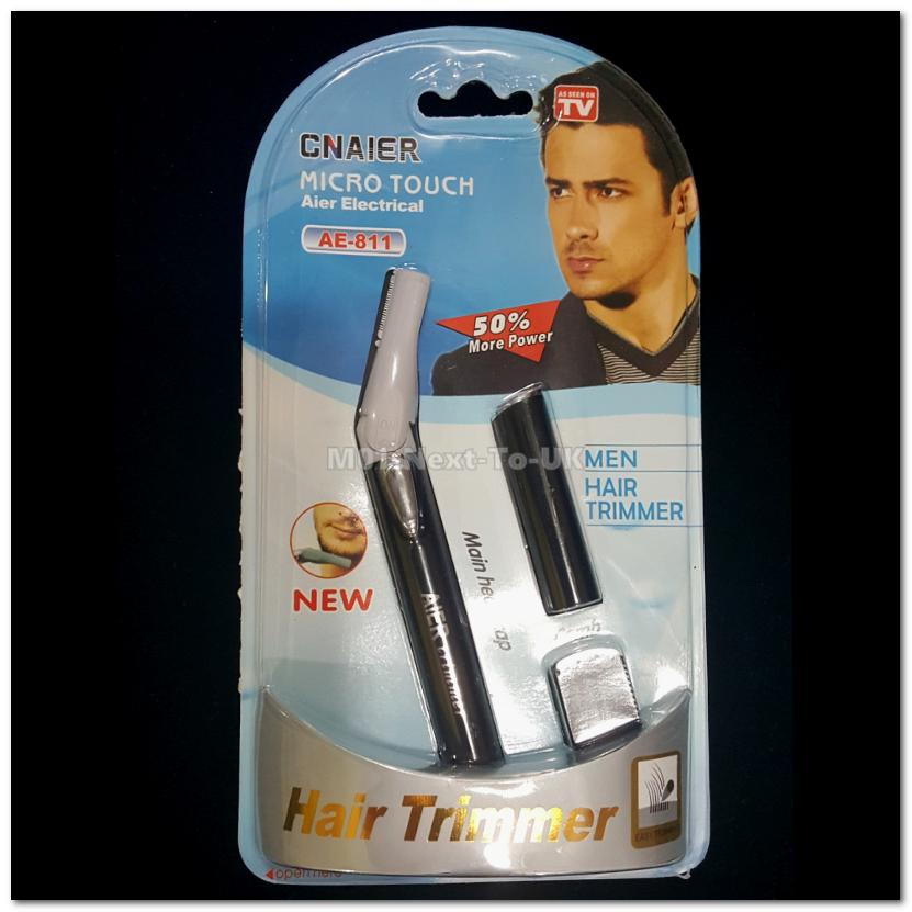 Quiet Cordless Hair Clipper Shaver Trimmer Micro Touch Max Wireless Tr