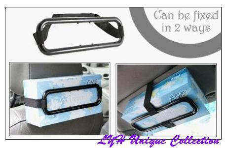 R0081 Car Universal Multi-way Tissue Box Holder (For All Type Box/Car)
