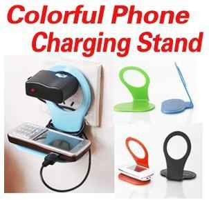 R0087 Wall Charging Rack Holder for Handphone Mobile Charger