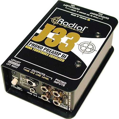 Radial Engineering J33 Turntable Direct Box
