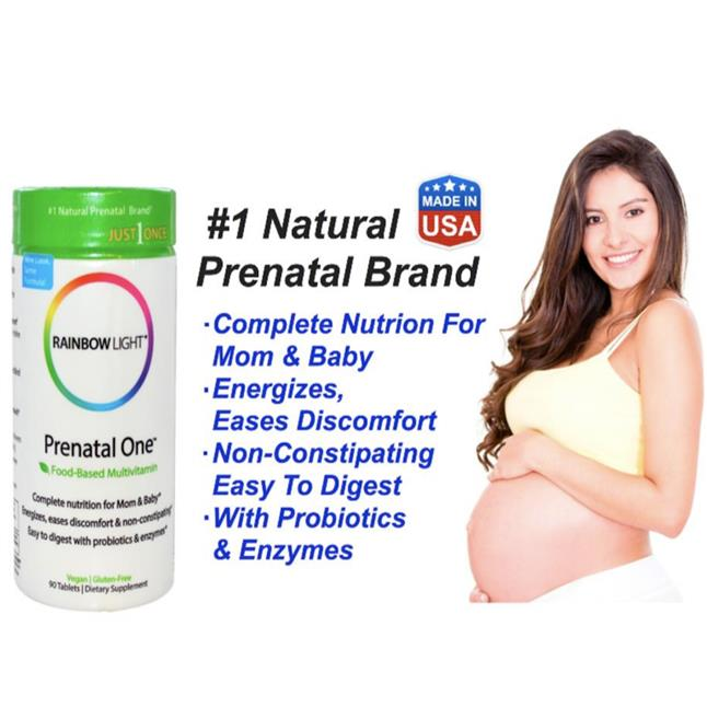 Rainbow Light ~ Prenatal One, Complete Nutrition for Mom & Baby (USA)