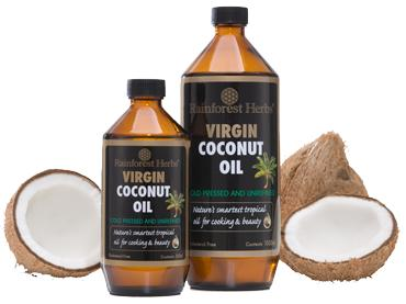 Rainforest Herb's Organic Cold-Pressed Virgin Coconut Oil (1L)