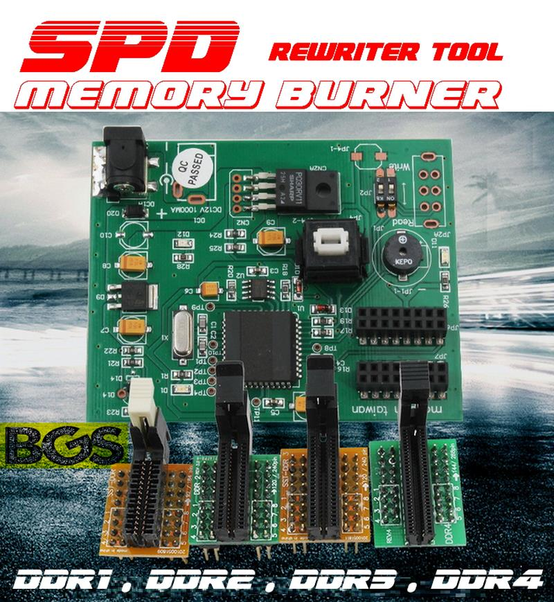 Ram memory SPD burner and rewriter tool support DDR1 DDR2 DDR3 DDR4