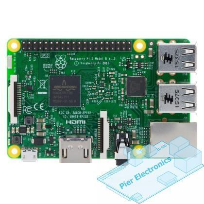 Raspberry Pi 3 with Official case, power adapter, camera, 32GB SD