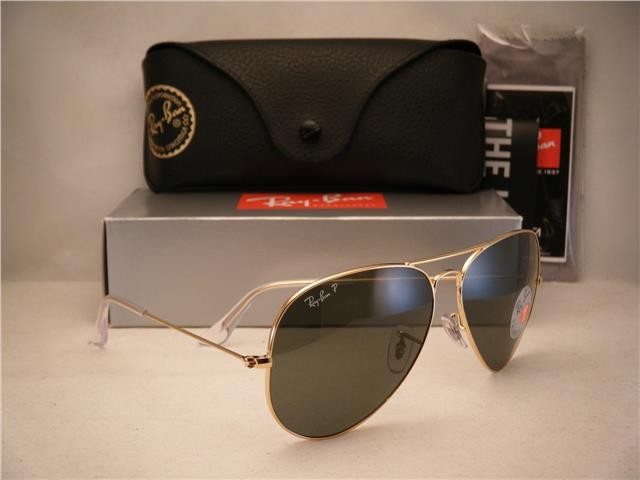 ray ban aviator rb3025 l0205  RAY BAN AVIATOR RB3025 L0205 58mm A (end 8/26/2016 12:15 AM)