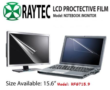 Raytec LCD Screen Protective Film 15.6', RFG715.9 ( 344 X 194MM )