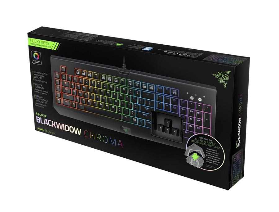 Razer Blackwidow Chroma Keyboard + R (end 4/20/2018 2:37 PM)