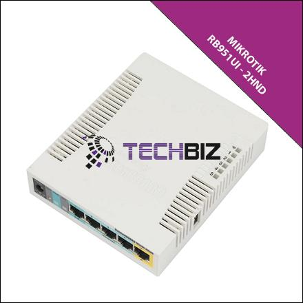 RB951Ui-2HnD MIKROTIK WIFI SOHO ROUTER 5 PORT POE