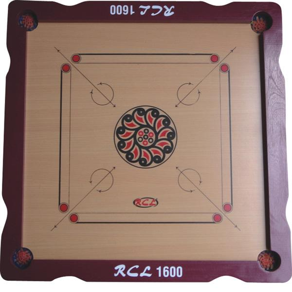 RCL CRB 1600 Carrom Board (6mm plywood, Frame Size:885 X 885 X 38mm)