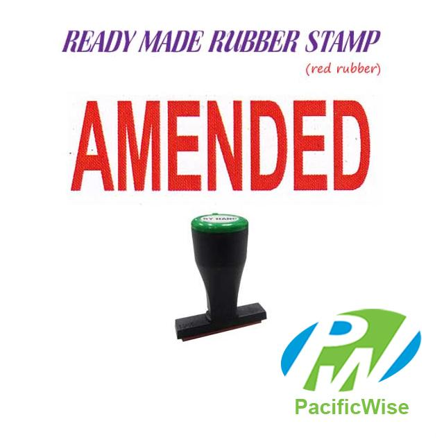 Ready-Made Rubber Stamp (Amended)