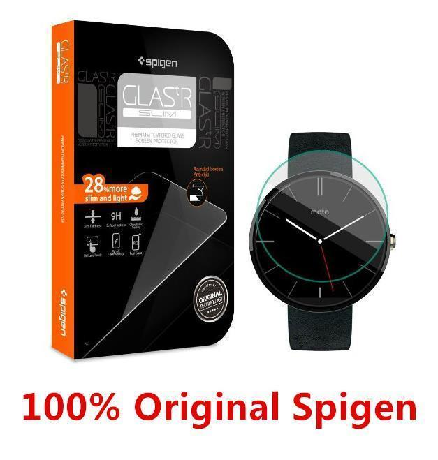 Ready Stock@ 100% Spigen SGP Motorola Moto 360 Watch Tempered Glass