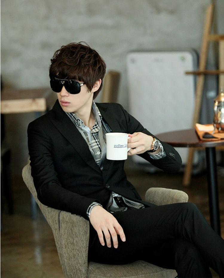 [Ready Stock]MB13 Korean Style Casual Slim Fit Men Blazer Coat Jacket