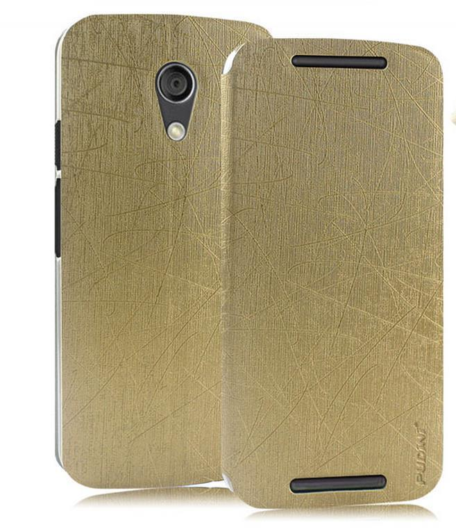 Ready Stock@ PUDINI Motorola Moto G2 G 2nd Flip Case Cover Casing