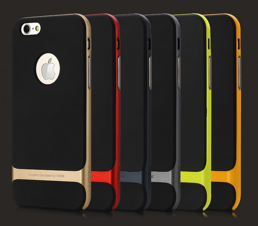 Ready Stock@ Rock iPhone 6 Plus 5.5' ShakeProof Back Case Cover Casing