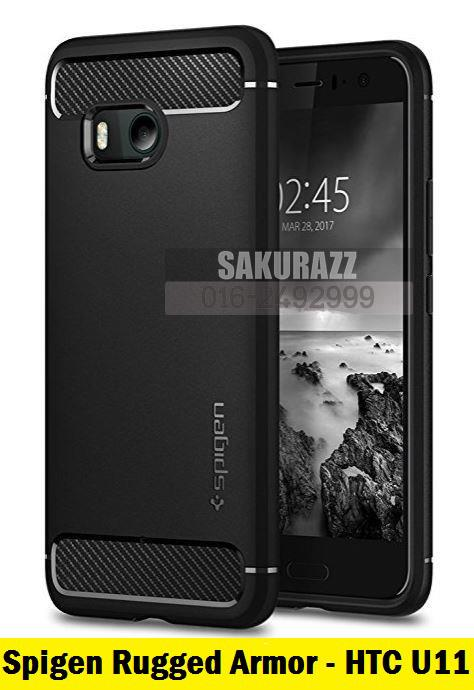 [READY STOCK] SGP Spigen Rugged Armor Case HTC U11 (2017)