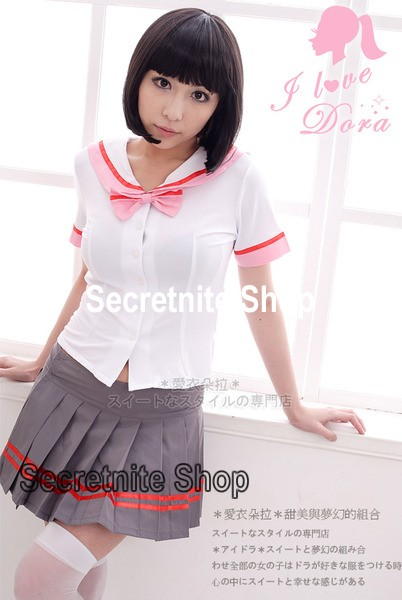 Ready Stock Sun@ Sexy Lingerie Night Wear Costumes Student S-210
